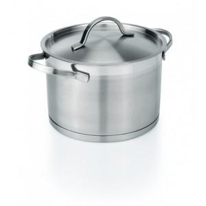 Cratita inox cu capac, 4.2 litri