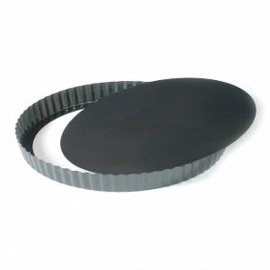 Forma tarte pentru cuptor, fund demontabil, 24x2.8 cm