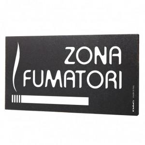 Semn indicator Zona Fumatori, 8x15 cm
