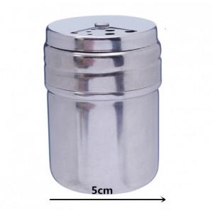 Dispenser inox pentru condimente, 7.5x5 cm