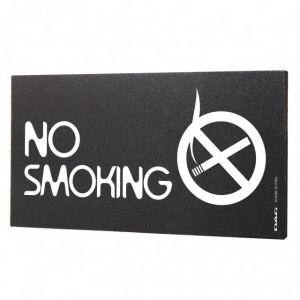 Semn indicator No Smoking, 8x15 cm