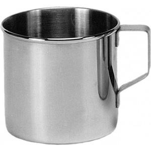 Cana inox cu toarta, 350 ml