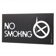 Semn indicator No Smoking, 8x15 cm