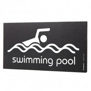 Semn indicator Swimming Pool, 8x15 cm
