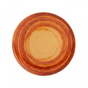 Mandarin: Farfurie desert culoare orange, 22 cm