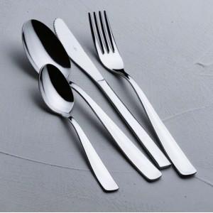 Cinzia: Furculita aperitiv/gustare din inox, 17.5 cm