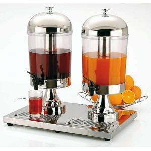 Dispenser suc model Inox Star Duo, 2x8 litri