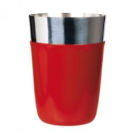 Cocktail shaker rosu 450 ml