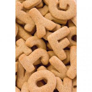 Set 26 litere din inox pentru biscuiti