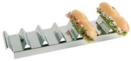 Display sandwich-uri din inox, 47.5x10.5xH6 cm