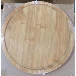 Platou sau blat din lemn de bambus diametru 30 cm