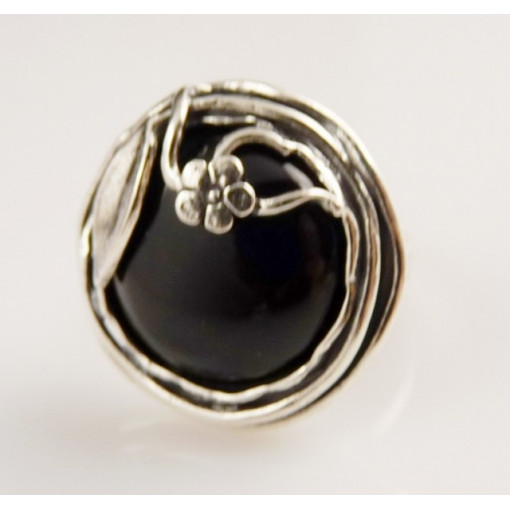 Inel argint onix R841