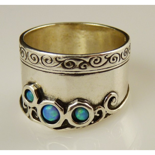 Inel argint opal R2422