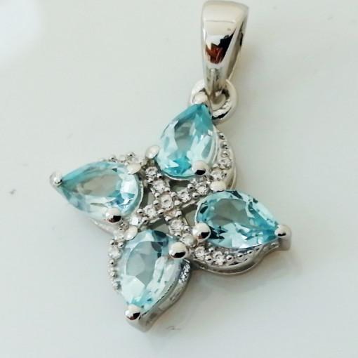 Pandantiv argint -VP027315 topaz