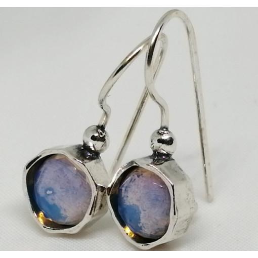 Cercei argint opalit E2675