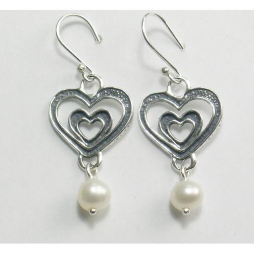 Cercei argint perla E5376A