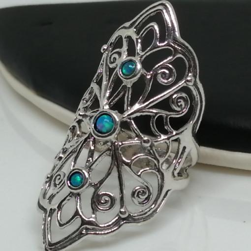 Inel argint opal R10571