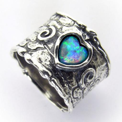 Inel argint opal R3199