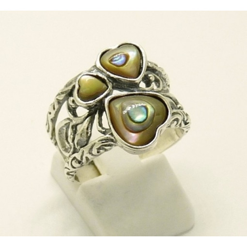 Inel argint R2064 - abalon