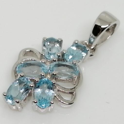 Pandantiv argint -VP016627 topaz