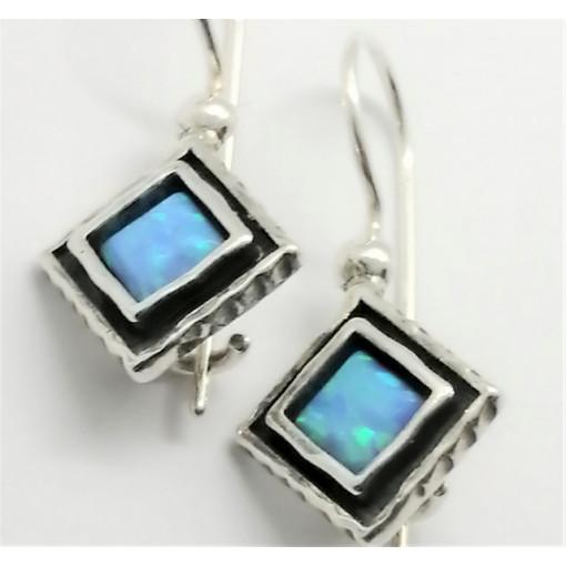 Cercei argint OPAL- E2497