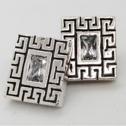 Cercei argint zircon E2233