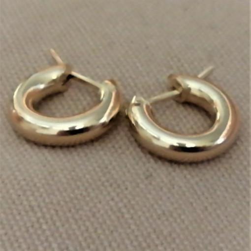 Cercei cu tija -argint placat cu aur galben - ORGA0955PLM8