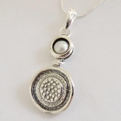 Colier argint perla -8117GFN-1481