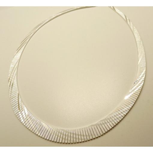 Colier la baza gatului din argint -CTOM0103AG10F