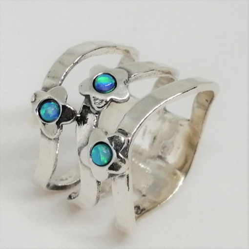 Inel argint opal imperial R3078