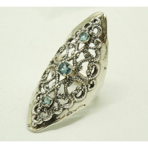 Inel argint R10349 topaz