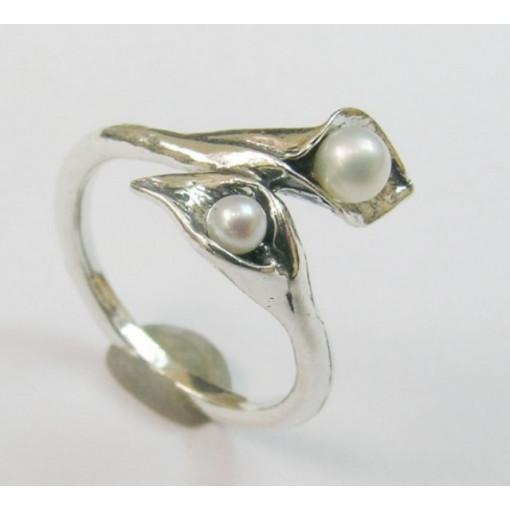 Inel argint R5847 - perla