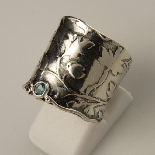 Inel argint topaz R1077