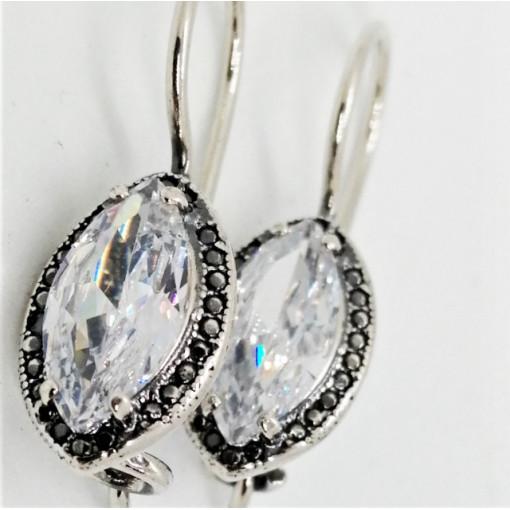 Cercei argint -zircon -E2824