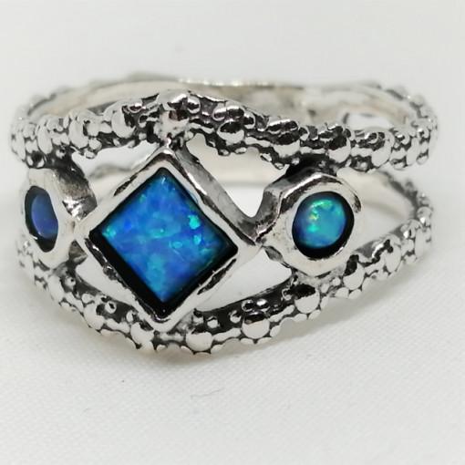 Inel argint opal imperial R3294