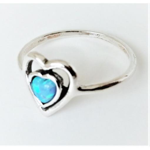 Inel argint opal R11726