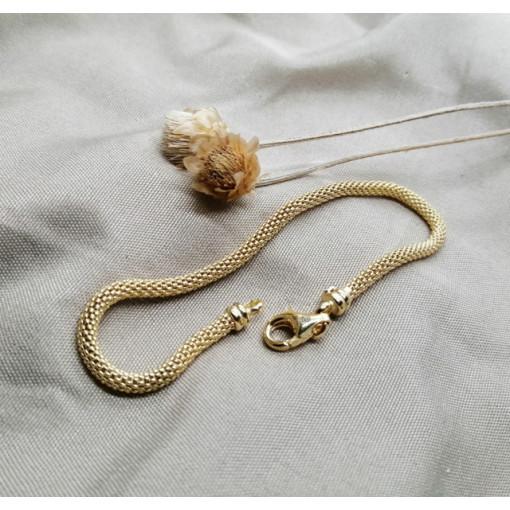 Bratara LECCE-argint placata cu aur galben -BRST1543PL4GI