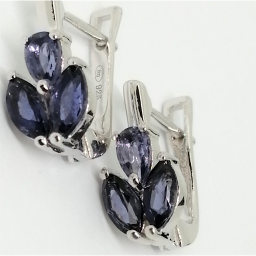 Cercei argint iolit -VE017274