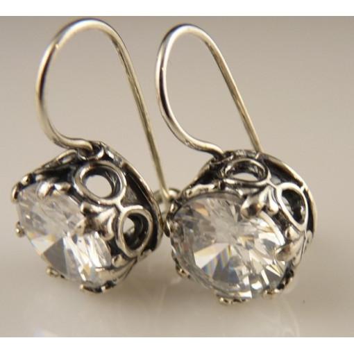 Cercei din argint- zircon E867