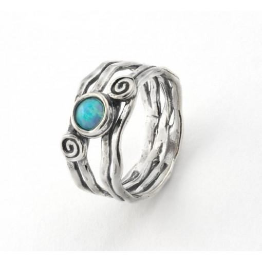 Inel argint opal R310