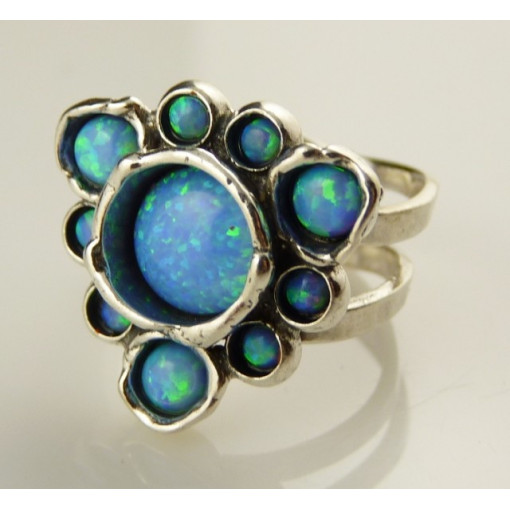Inel argint R3622 - opal