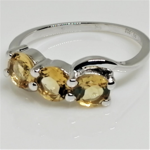 Inel argint VR016802 citrin