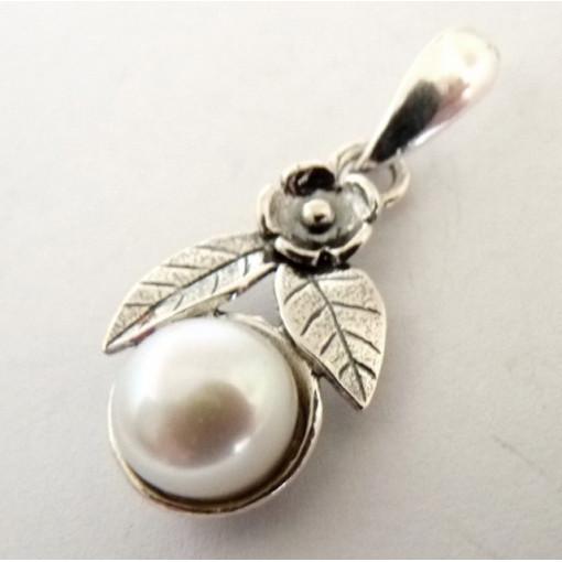 Pandantiv argint perla -E1517