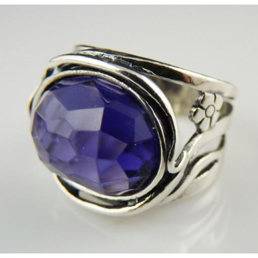 R921-Inel argint -ametist