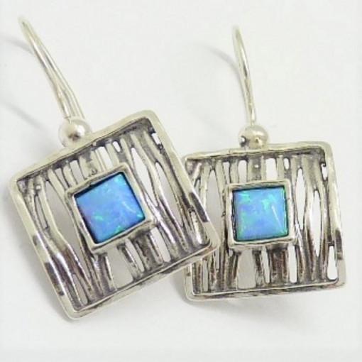 Cercei argint opal E2627-opal