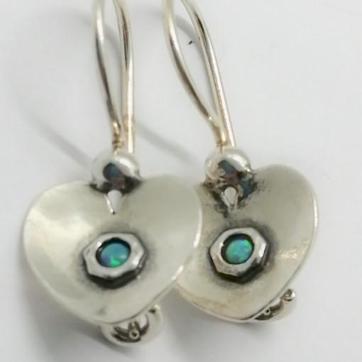 Cercei argint OPAL- E2970A