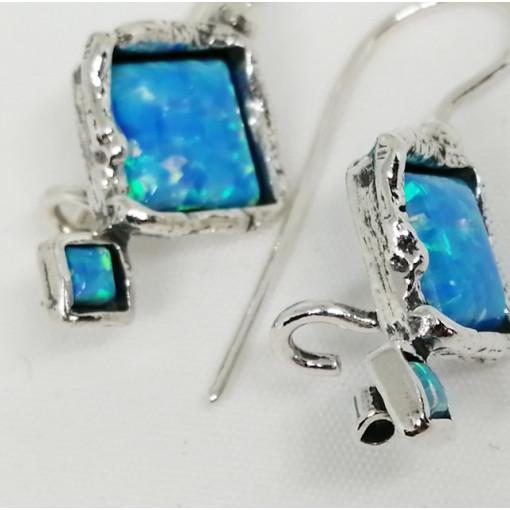 Cercei argint opal E3668-opal