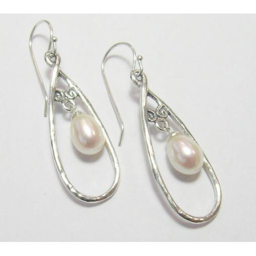 Cercei argint perla -E9800-1