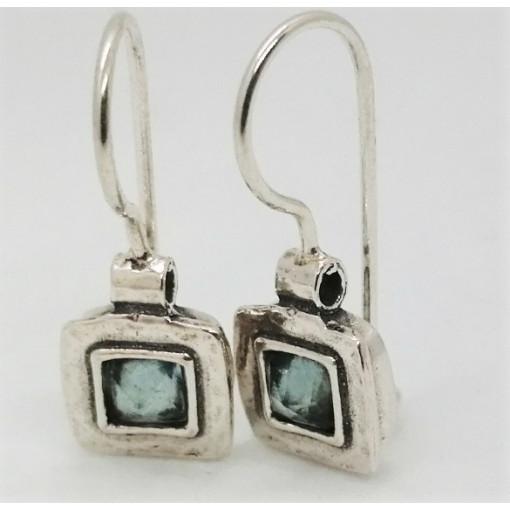 Cercei argint topaz E1686B
