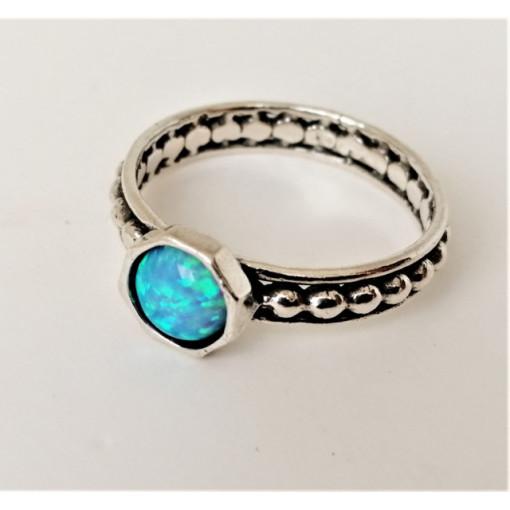 Inel argint opal R11690